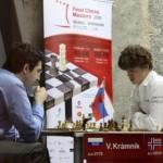Carlsen-Kramnik in Round 4