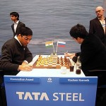 Anand-Kramnik in Round 2 | photo: Alina L'Ami, www.alinalami.com