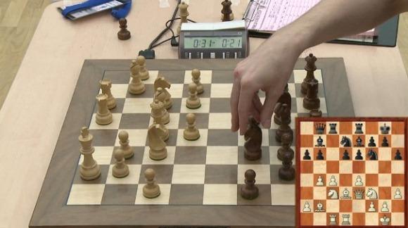 Grischuk takes knight